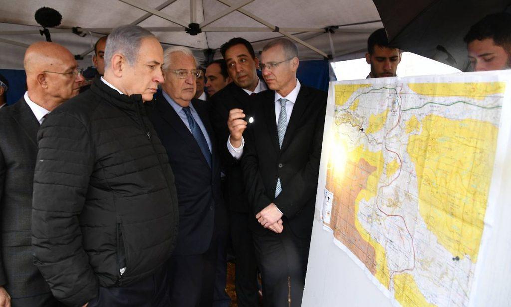 Netanjahu in Ariel